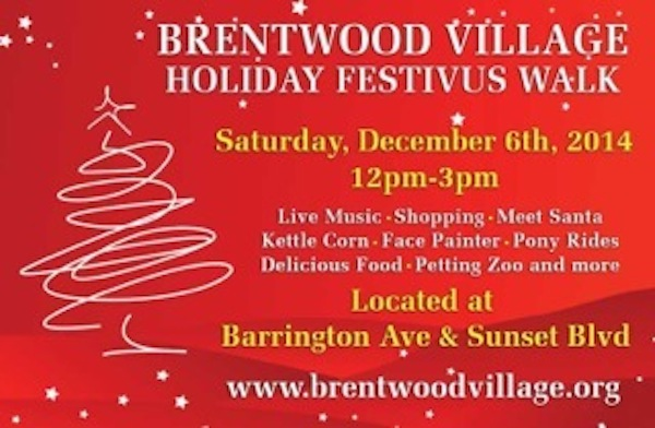 Brentwood Holiday Festivus
